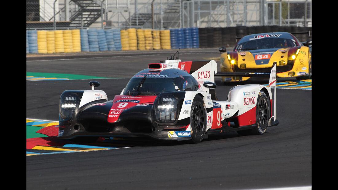 Toyota TS050 Hybrid - Startnummer #9 - 24h-Rennen Le Mans 2017 - Qualifying