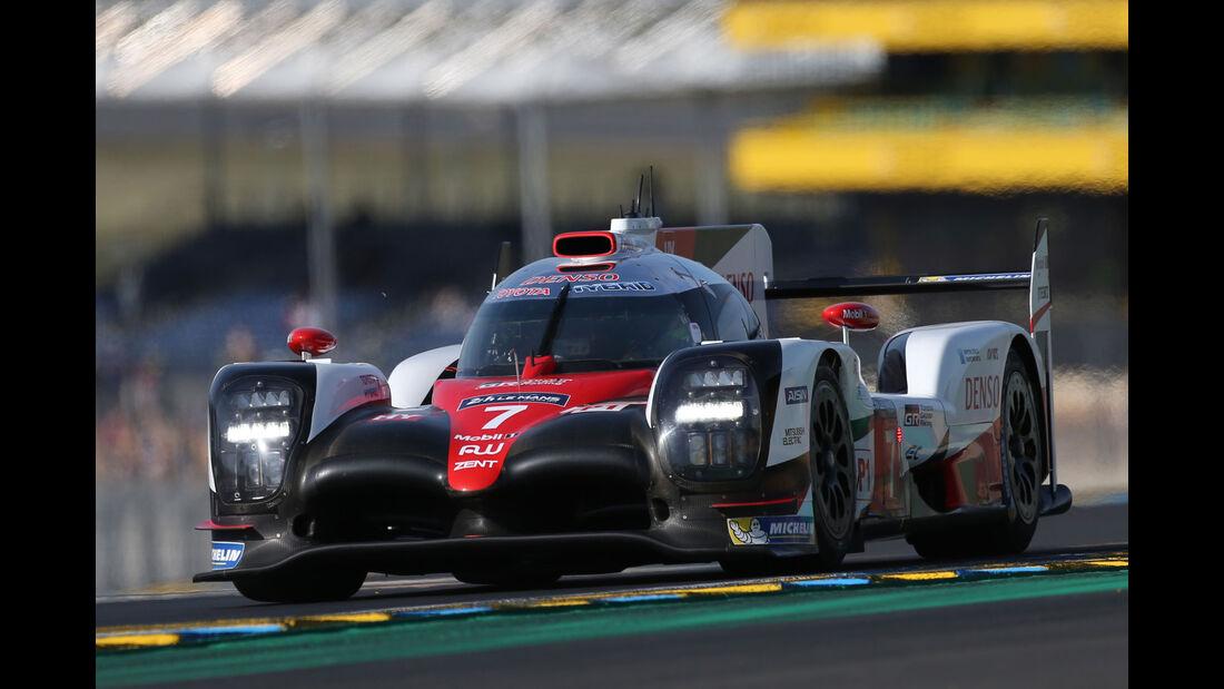 Toyota TS050 Hybrid - Vortest - 24h-Rennen Le Mans 2017