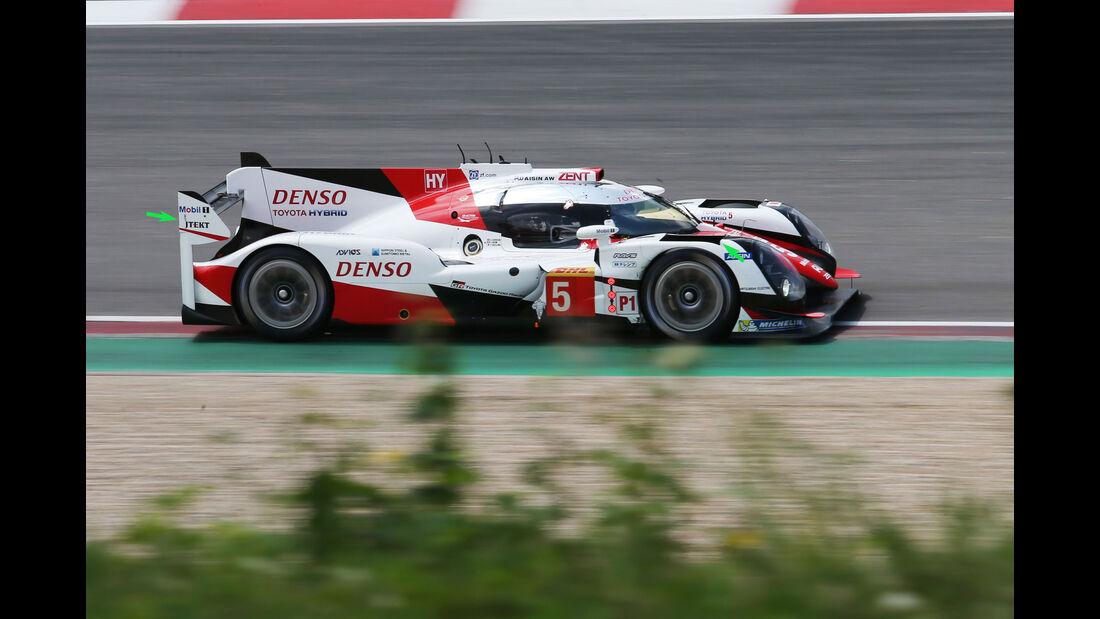 Toyota TS050 Hybrid - WEC - LMP1 - Technik - Nürburgring 2016