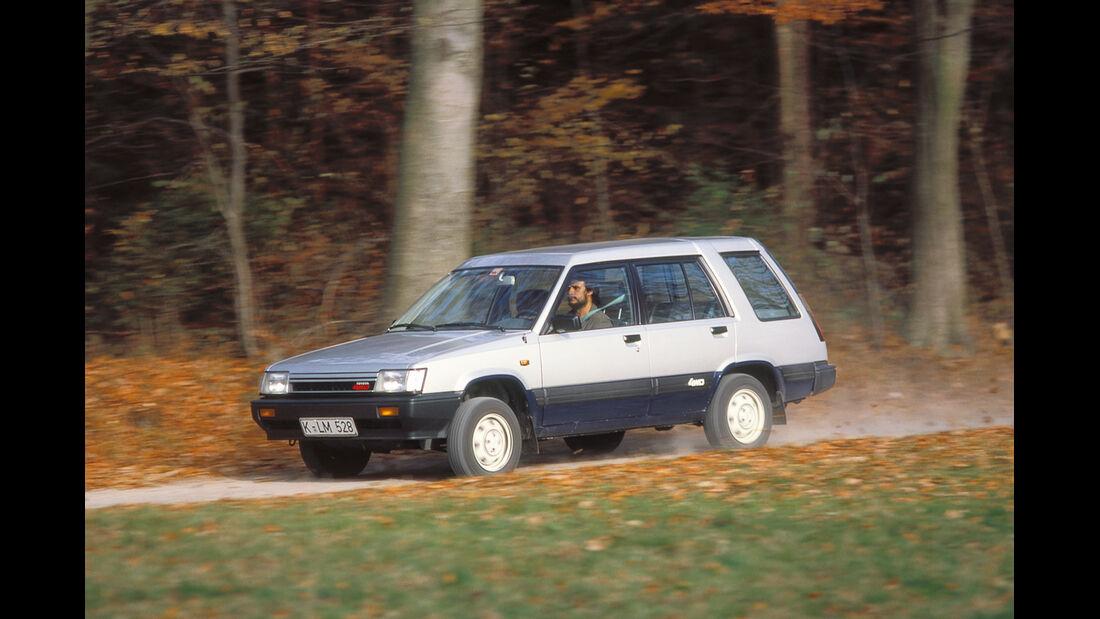 Toyota Tercel 4WD, Seitenansicht