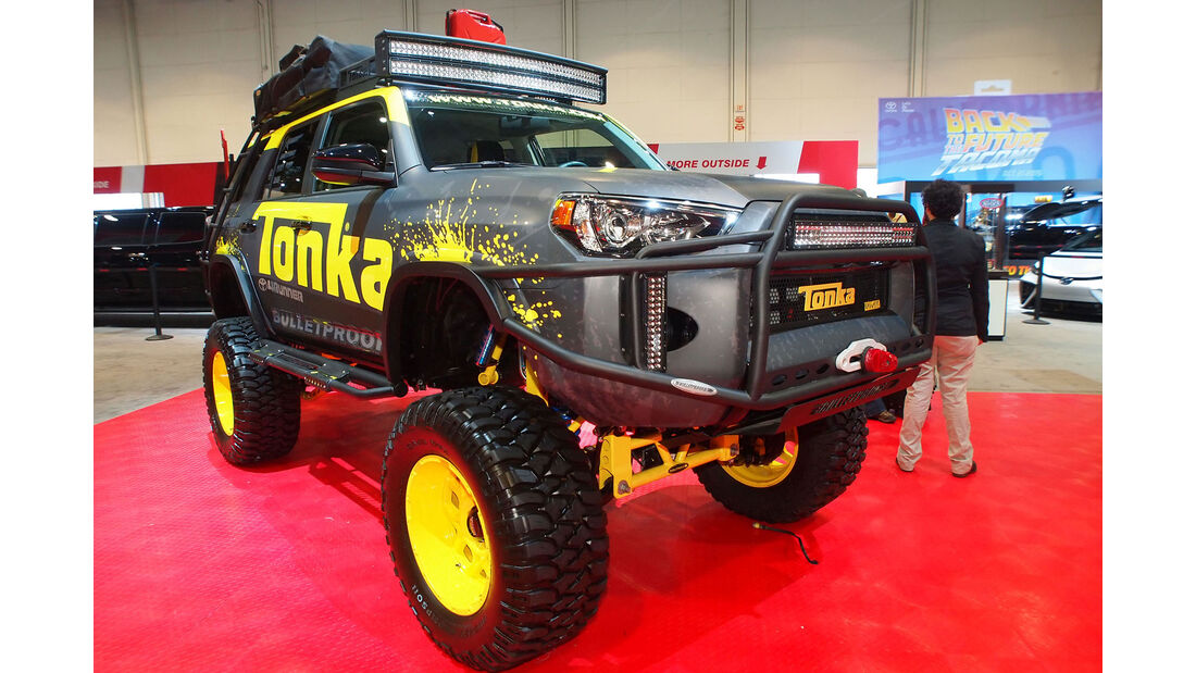 Toyota Tonka 4Runner - SEMA 2015 - Las Vegas