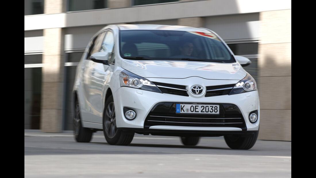 Toyota Verso 1.6 D-4D Life, Frontansicht