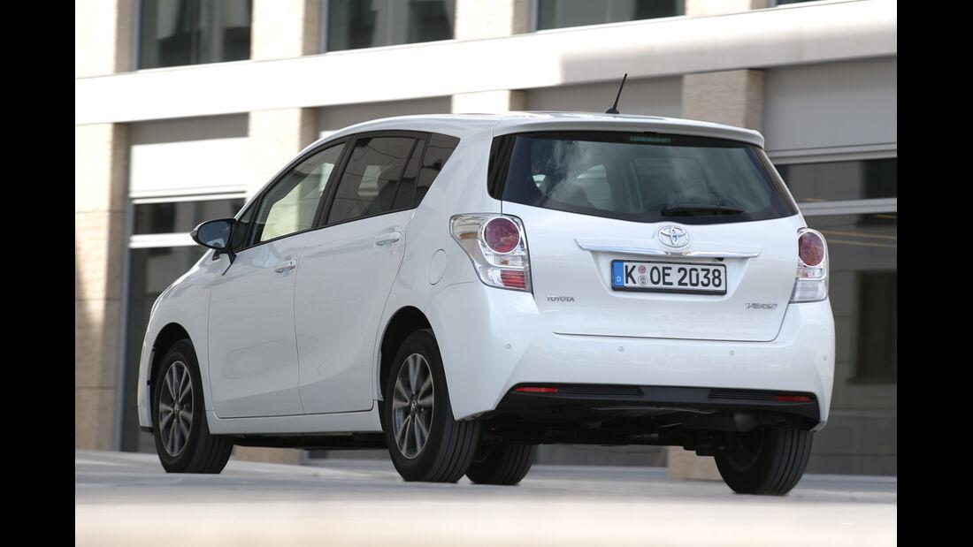 Toyota Verso 1.6 D-4D Life, Heckansicht