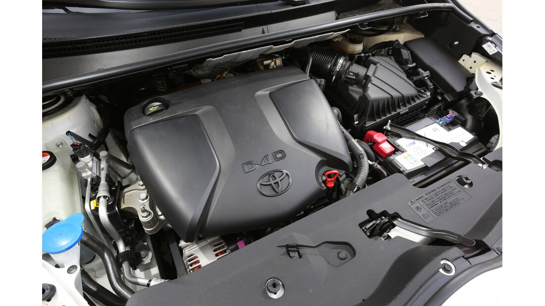 Toyota Verso 1.6 D-4D Life, Motor