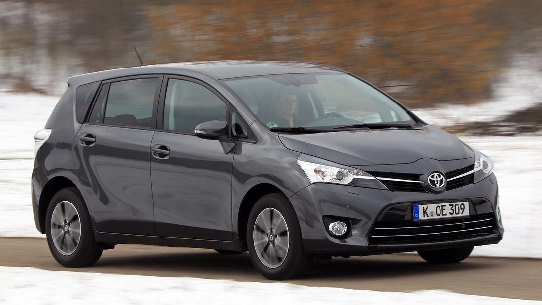 Toyota Verso 2.0 D-4D, Frontansicht