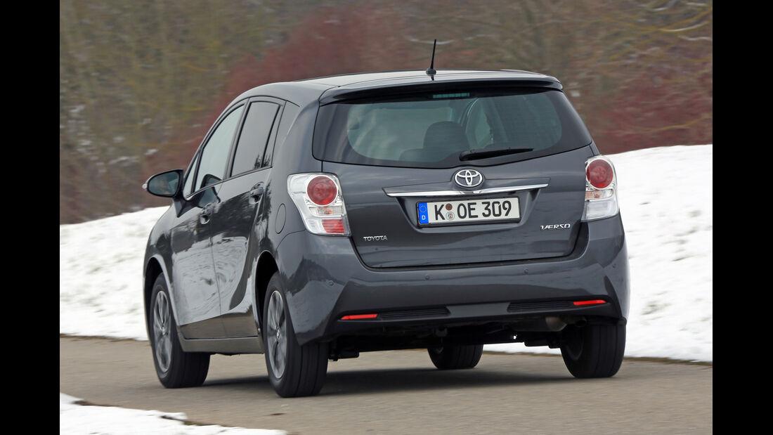 Toyota Verso 2.0 D-4D, Heckansicht