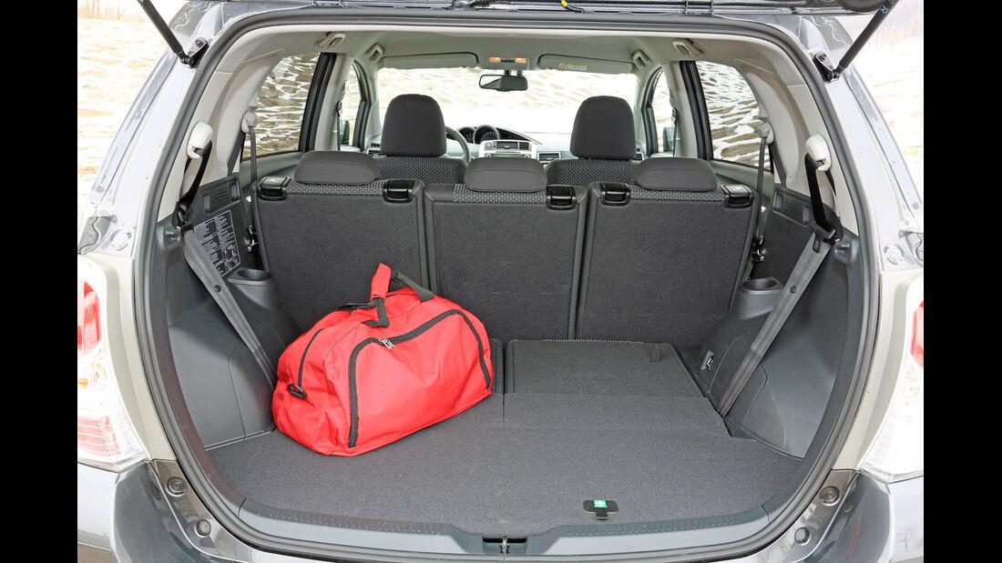 Toyota Verso 2.0 D-4D, Kofferraum