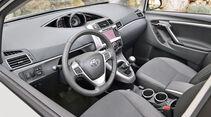Toyota Verso, Cockpit, Lenkrad