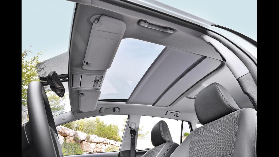 Toyota Verso, Dachfenster