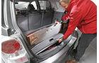 Toyota Verso, Kofferraum, Stauraum