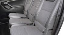 Toyota Verso, Rücksitze