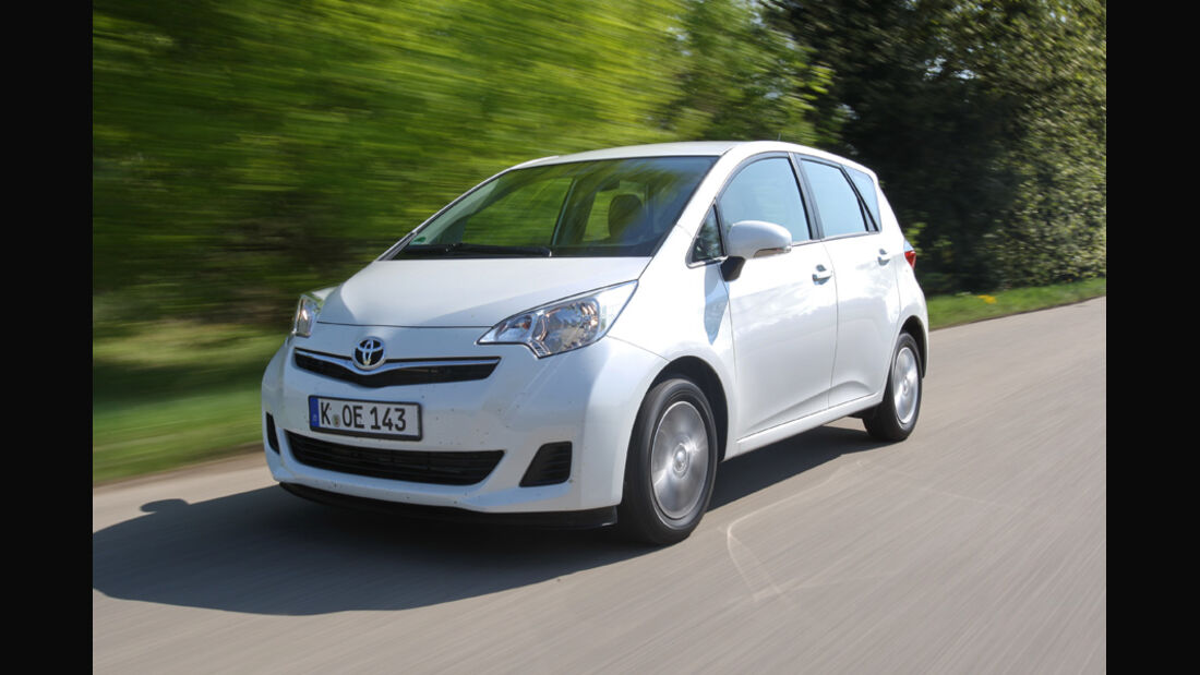 Toyota Verso-S 1.33, Frontansicht
