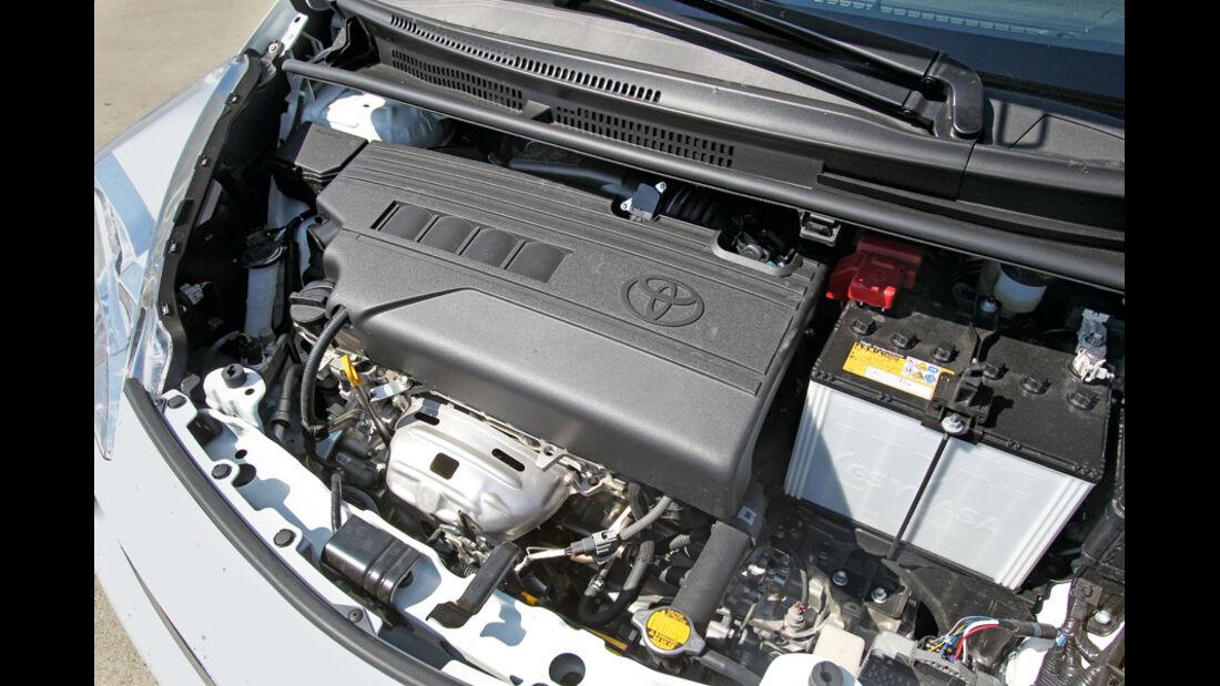 Toyota Verso-S 1.33, Motor, Motorraum