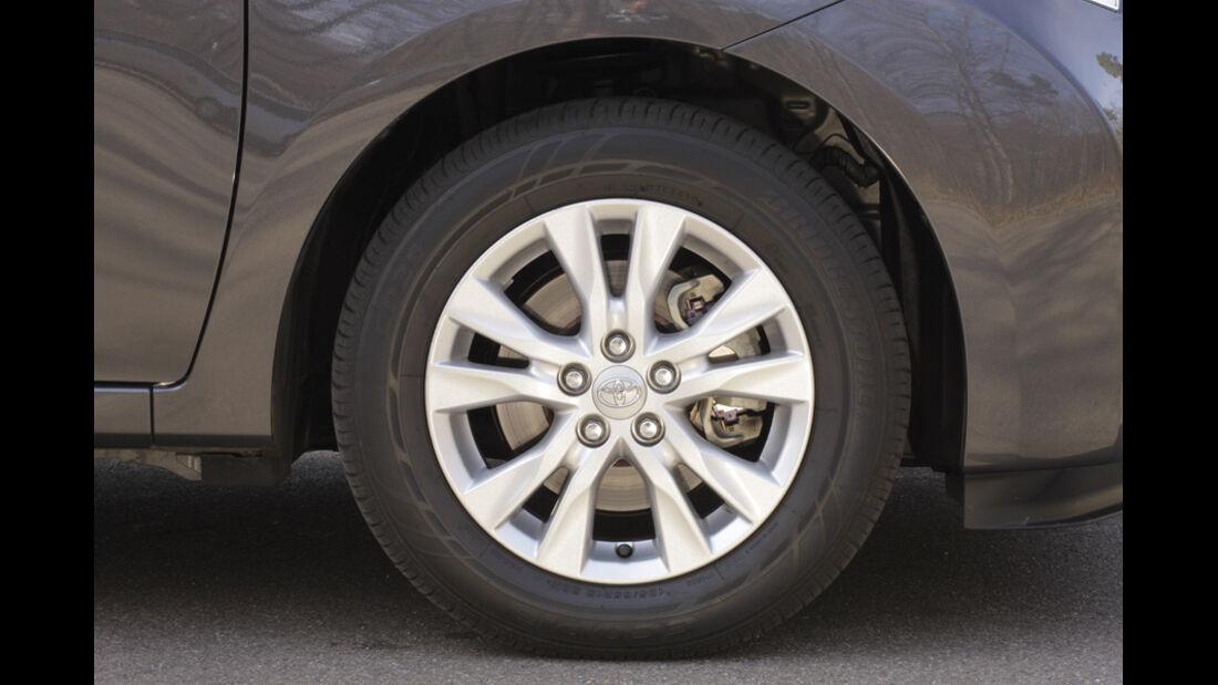 Toyota Verso S 1.4 D-4D, Felge, Rad