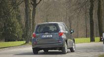 Toyota Verso S 1.4 D-4D, Heckansicht