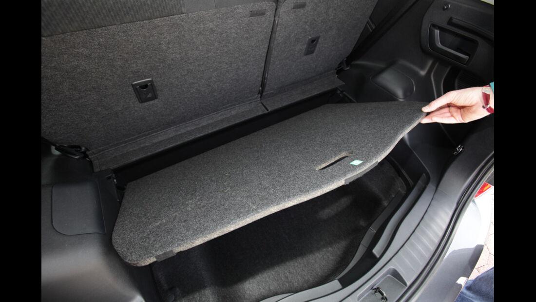Toyota Verso-S 1.4 D-4D, Kofferraum, Laderaum