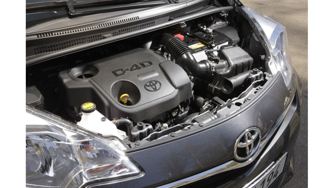 Toyota Verso S 1.4 D-4D, Motor, Detail