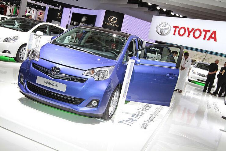 Toyota Verso-S Paris 2010