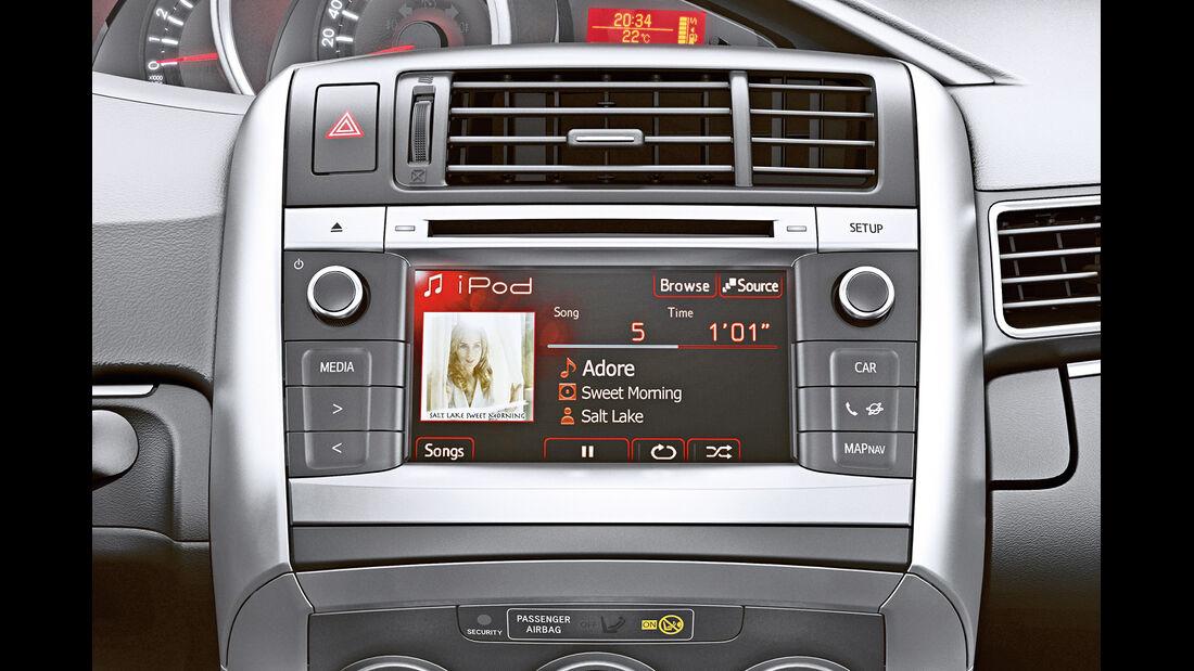 Toyota Verso1.6 D-4D, Infotainment