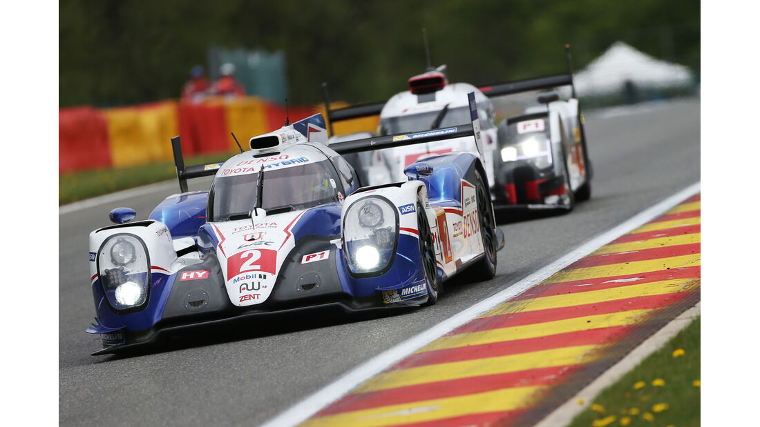 Toyota - WEC - 6h - Spa-Francorchamps - 2015