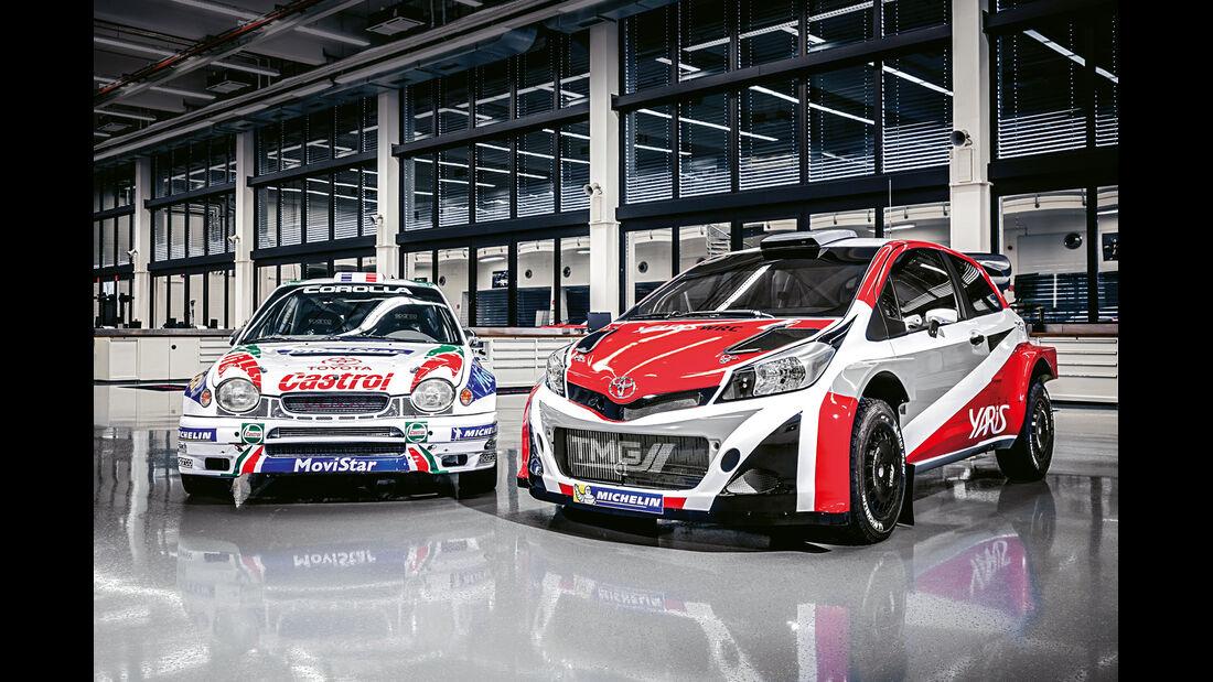 Toyota WRC, Yaris, Corolla