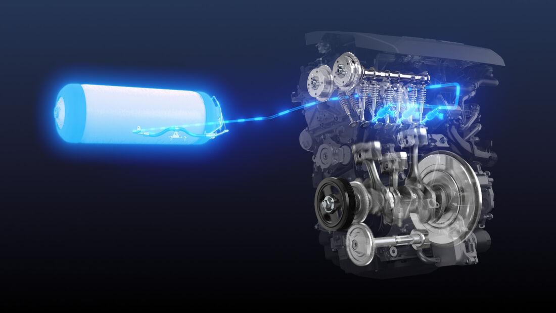 Toyota - Wasserstoff-Motor - Motorsport - 4/2021