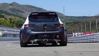 Toyota Wasserstoff Verbrenner Rennwagen 24h Rennen