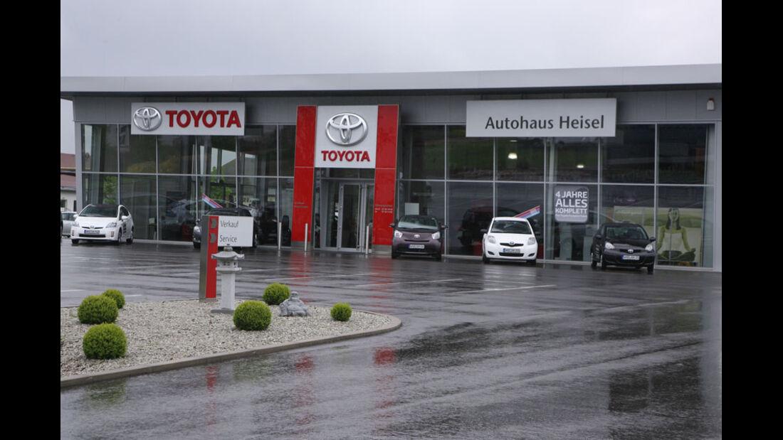 Toyota-Werkstatt, Autohaus Heisel