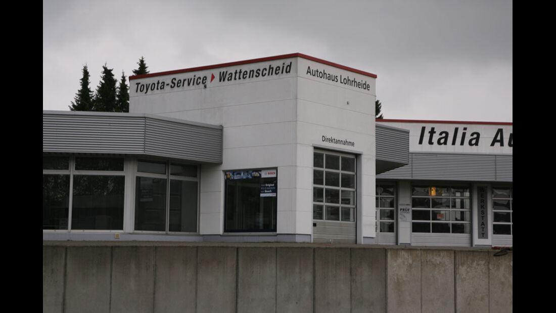 Toyota-Werkstatt, Autohaus Lohrheide