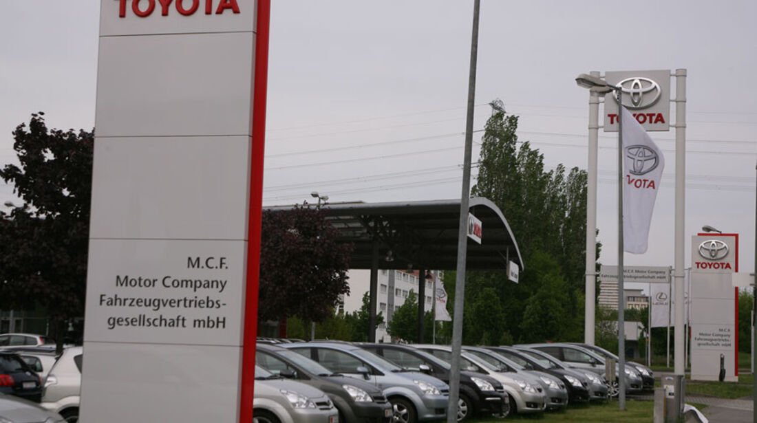 Toyota-Werkstatt, M.C.F. Motor Company