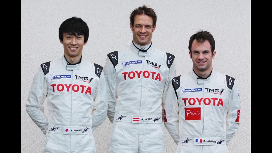 Toyota Wurz Nakajima Lapierre 2012