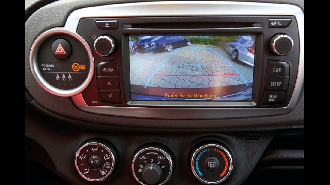 Toyota Yaris 1.4D-4D, Einparkhilfe