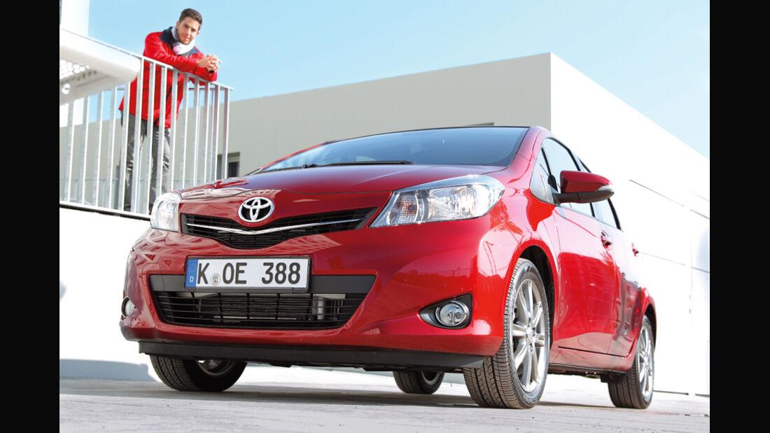 Toyota Yaris 1.4D-4D, Front