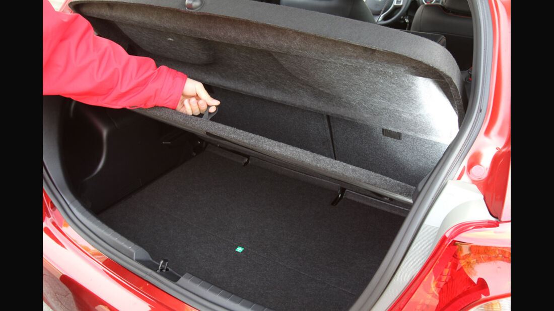 Toyota Yaris 1.4D-4D, Kofferraum