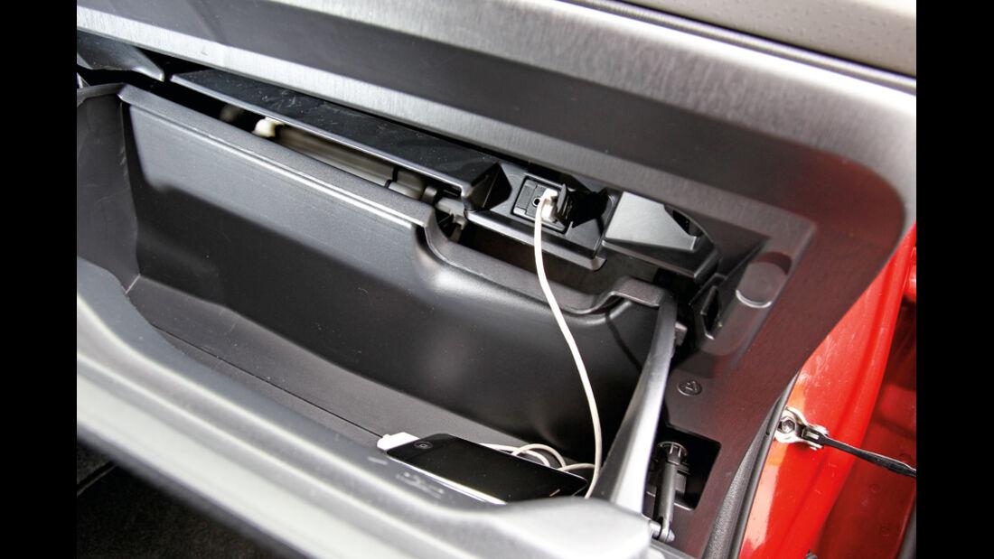 Toyota Yaris 1.4D-4D, Lenkradeinstellung