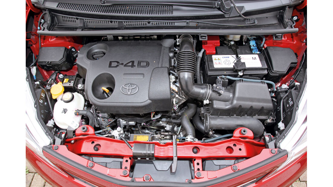 Toyota Yaris 1.4D-4D, Motor