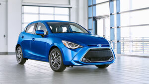 Toyota Yaris 2020 Neuvorstellung New York Auto Show 2019
