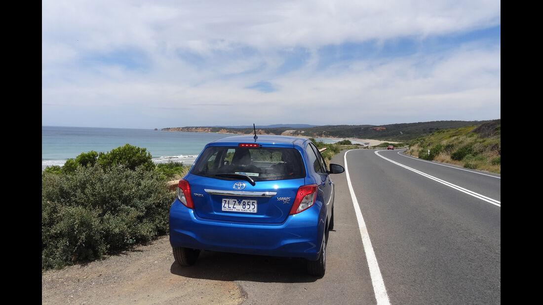 Toyota Yaris Australien 2012