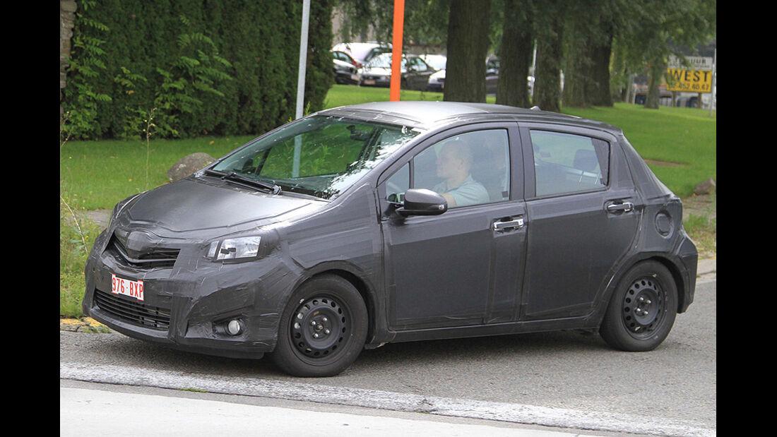 Toyota Yaris Erlkönig