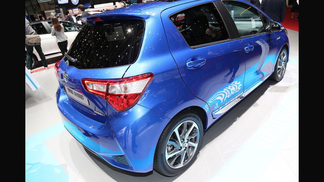 Toyota Yaris Facelift 2017