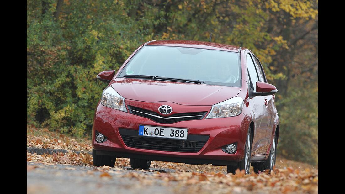 Toyota Yaris Front