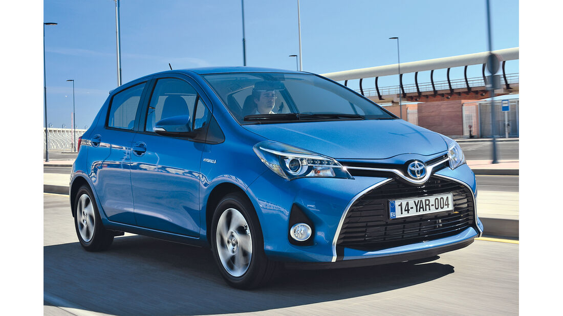 Toyota Yaris, Frontansicht
