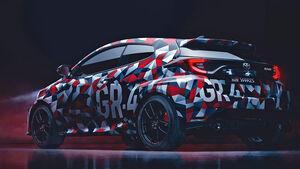 Toyota Yaris GR-4 Teaser