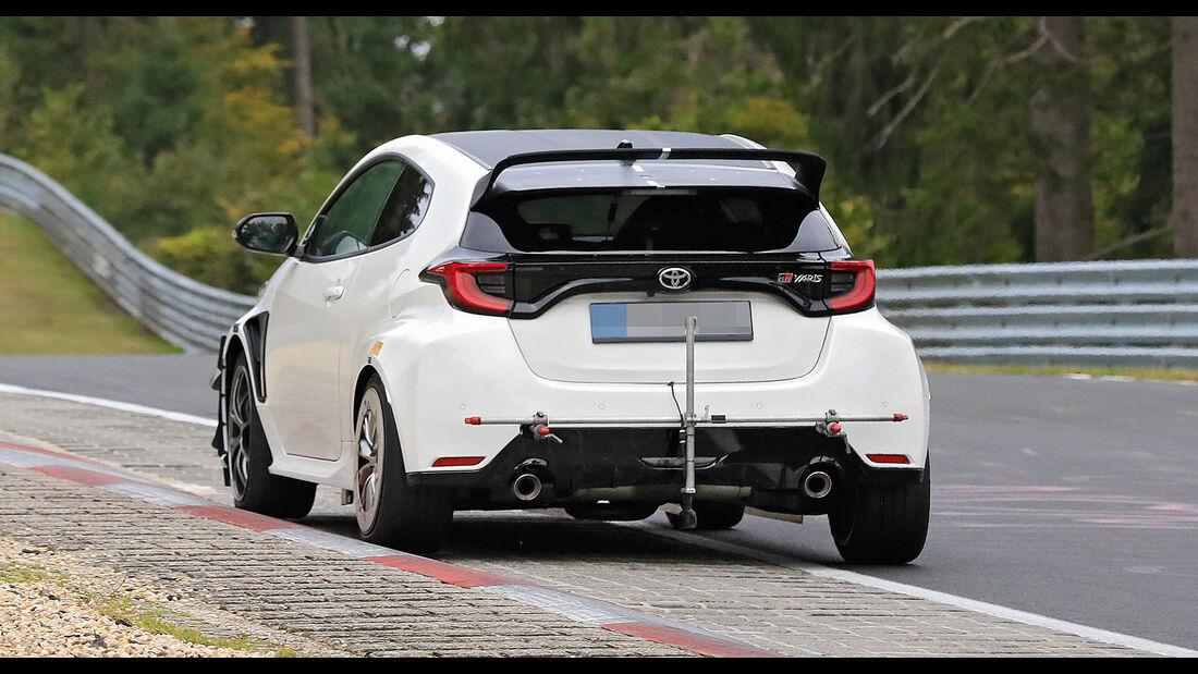 Toyota Yaris GR Extremversion Erlkönig