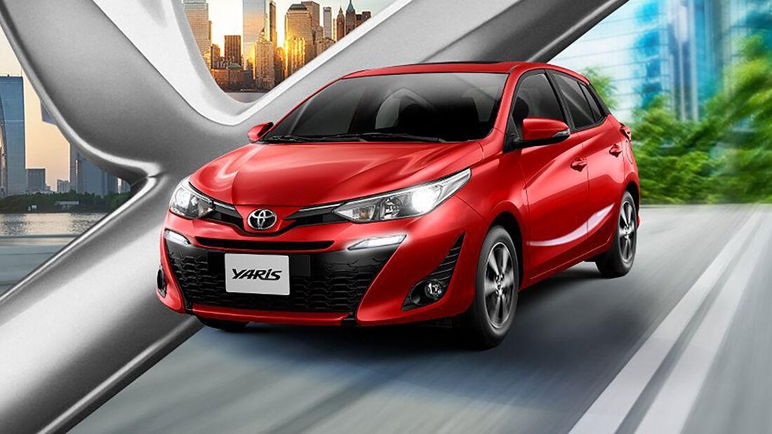 Toyota Yaris HB Brasilien