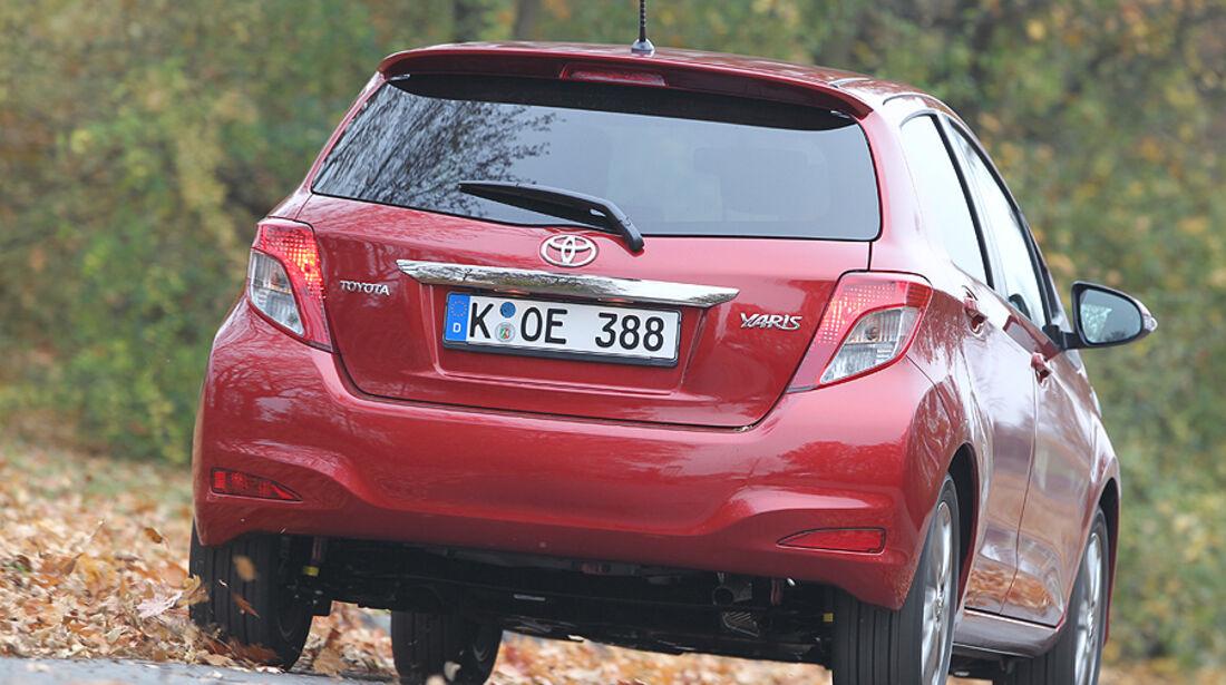 Toyota Yaris Heck