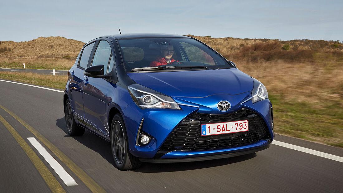 Toyota Yaris Hybrid 2017 Facelift