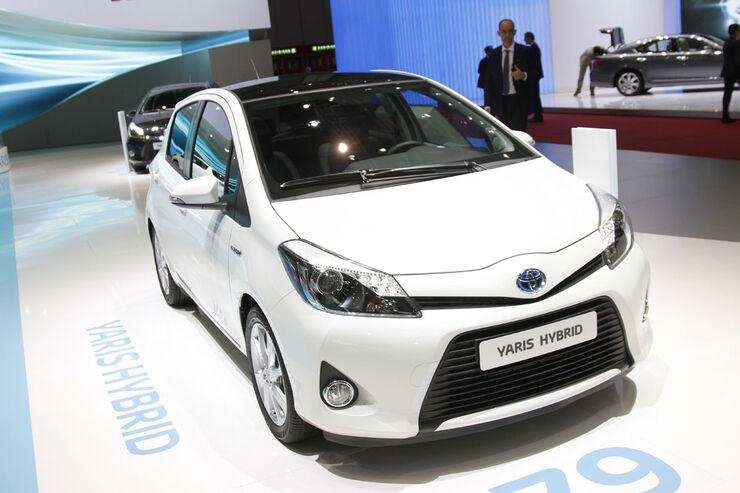 Toyota Yaris Hybrid Auto-Salon Genf 2012