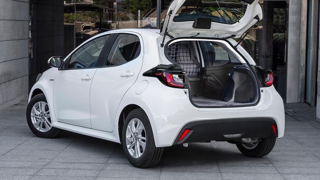 Toyota Yaris Hybrid ECOVan (2021) Nutzfahrzeug