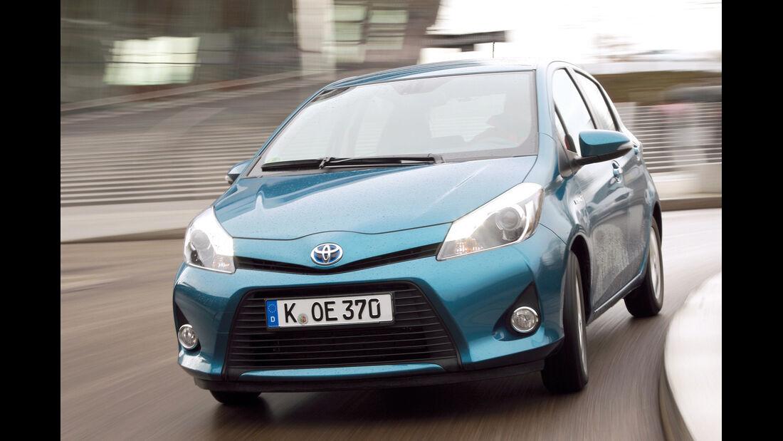 Toyota Yaris Hybrid, Frontansicht